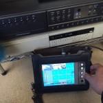 防犯カメラのハードデスク交換作業